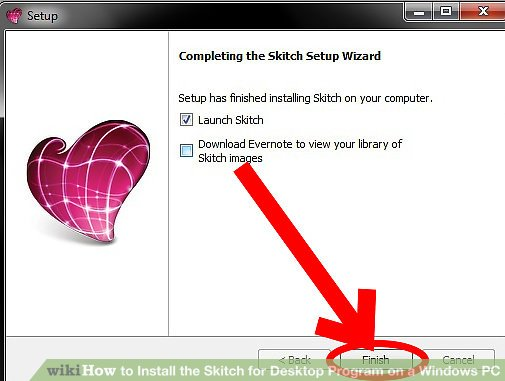 How to Install the Skitch for Desktop Program on a Windows PC