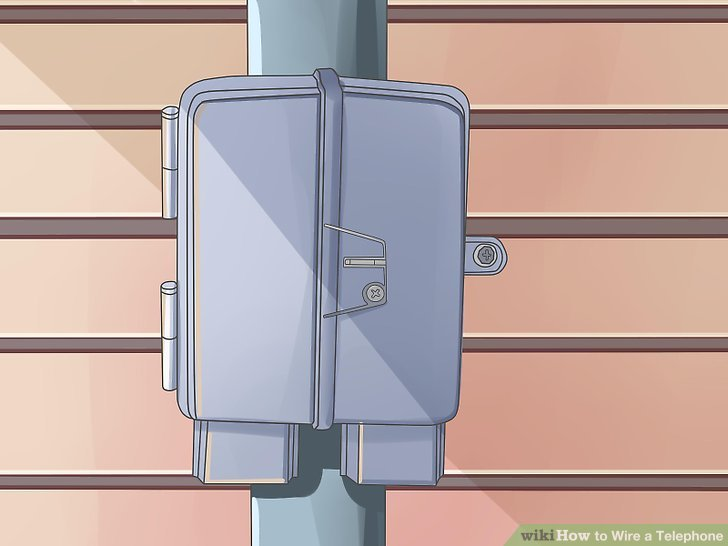 How to Wire a Telephone 12 Steps - wikiHow