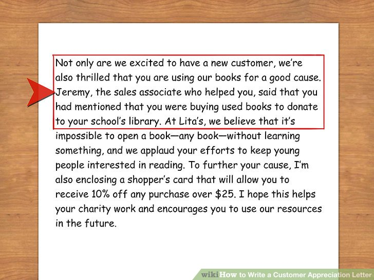 How to Write a Customer Appreciation Letter (with Sample Letters)