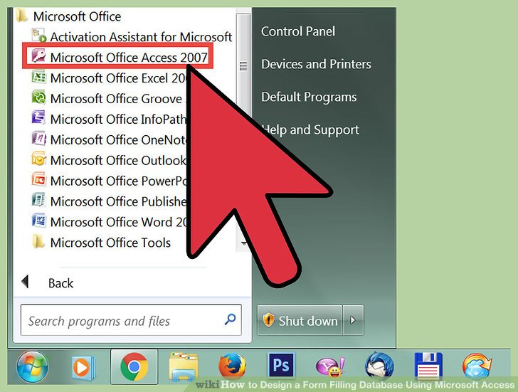 How to Design a Form Filling Database Using Microsoft Access