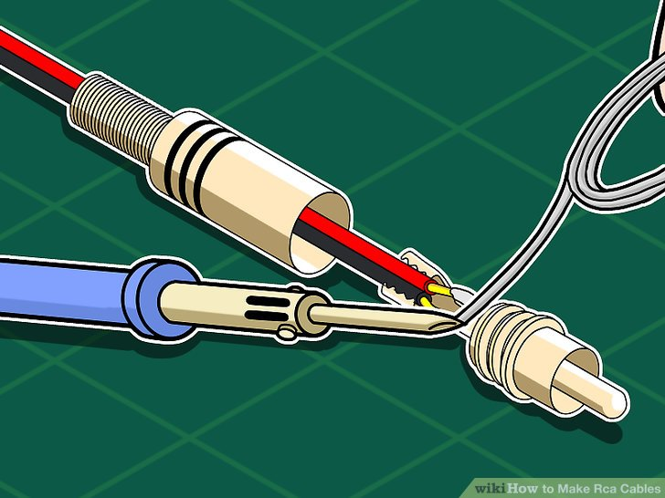 How to Make Rca Cables 11 Steps (with Pictures) - wikiHow