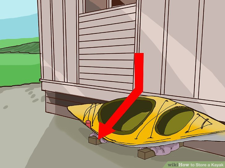 4 Ways To Store A Kayak Wikihow