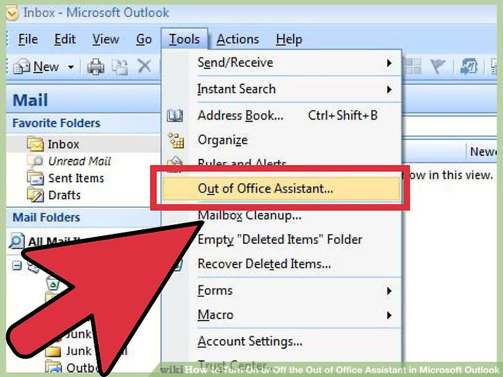 4 Ways to Turn On or Off the Out of Office Assistant in Microsoft