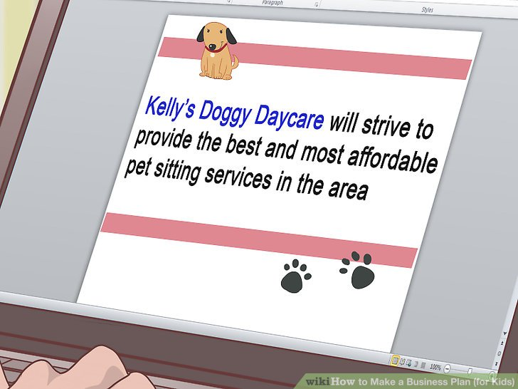 How to Make a Business Plan (for Kids) (with Pictures) - wikiHow