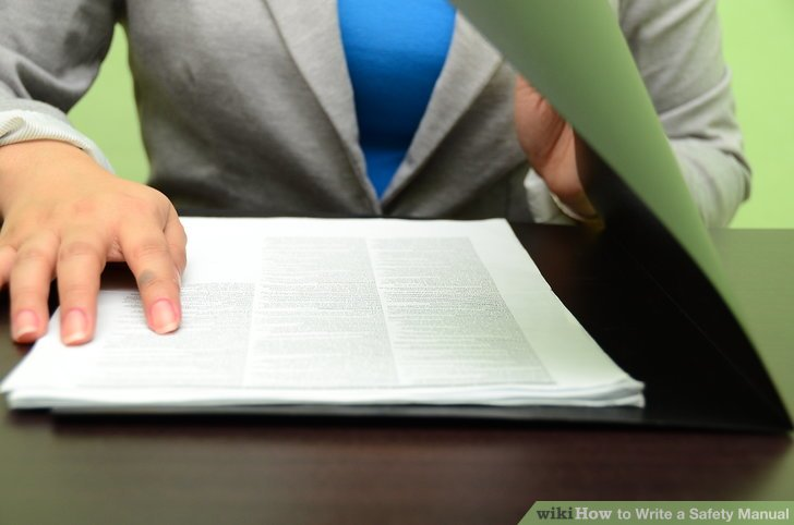 How to Write a Safety Manual 8 Steps (with Pictures) - wikiHow