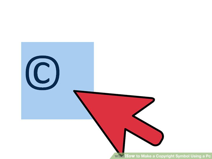 How to Make a Copyright Symbol on a Computer 9 Steps