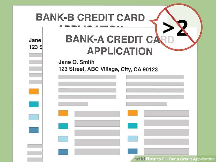 3 Ways to Fill Out a Credit Application - wikiHow - credit application