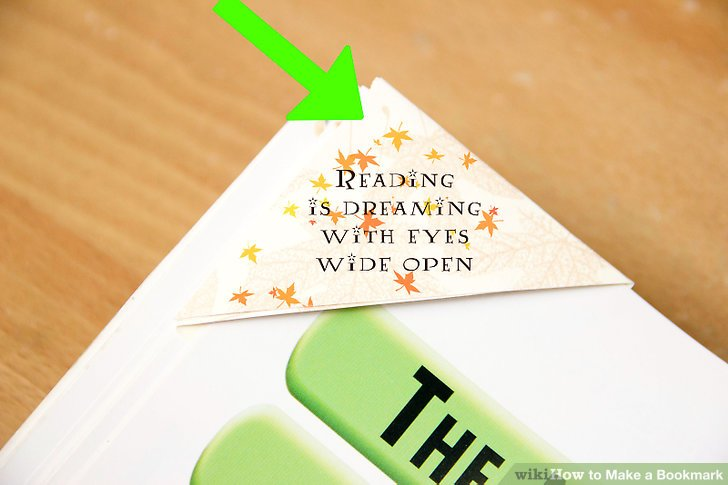 8 Ways to Make a Bookmark - wikiHow