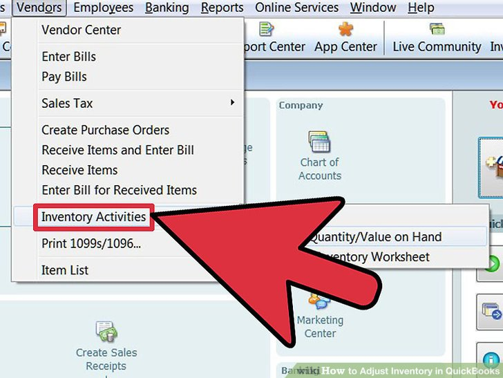 How to Adjust Inventory in QuickBooks 11 Steps (with Pictures)