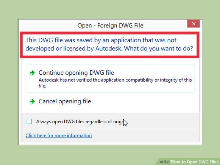 How To? - How to Open DWG Files