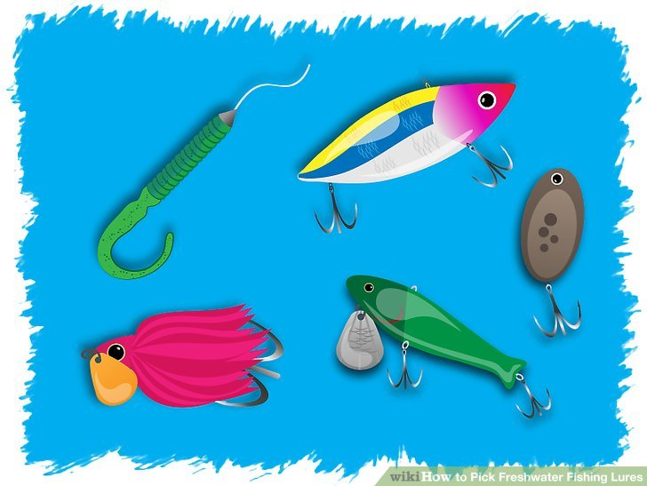 How to Pick Freshwater Fishing Lures 8 Steps (with Pictures)