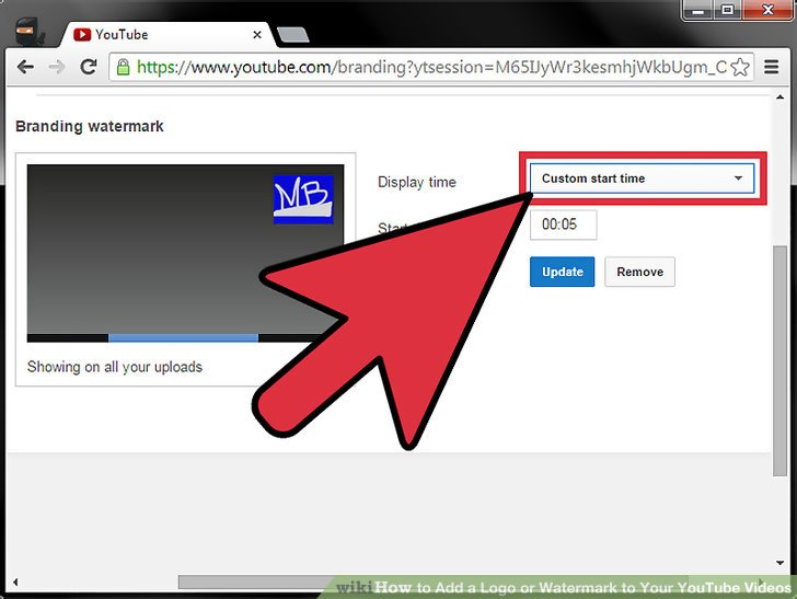 How to Add a Logo or Watermark to Your YouTube Videos 14 Steps