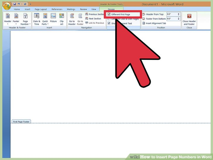 3 Ways to Insert Page Numbers in Word - wikiHow