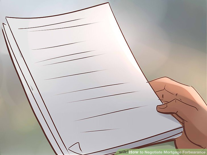How to Negotiate Mortgage Forbearance 13 Steps (with Pictures)