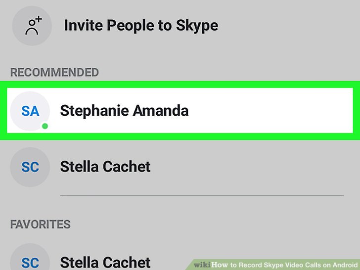 How to Record Skype Video Calls on Android (with Pictures) - Record Skype Video Calls