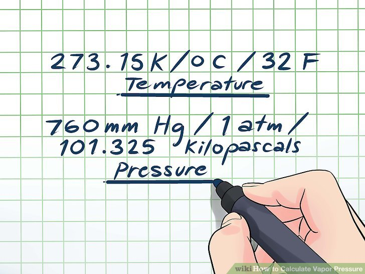 3 Easy Ways to Calculate Vapor Pressure (with Pictures)