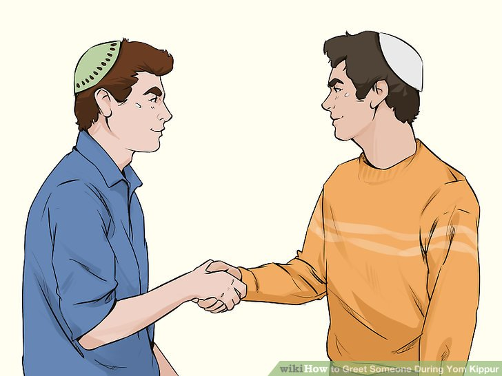 How to Greet Someone During Yom Kippur 9 Steps (with Pictures)