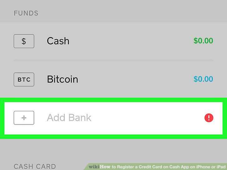 How to Register a Credit Card on Cash App on iPhone or iPad