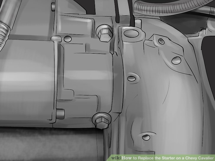 How to Replace the Starter on a Chevy Cavalier 9 Steps