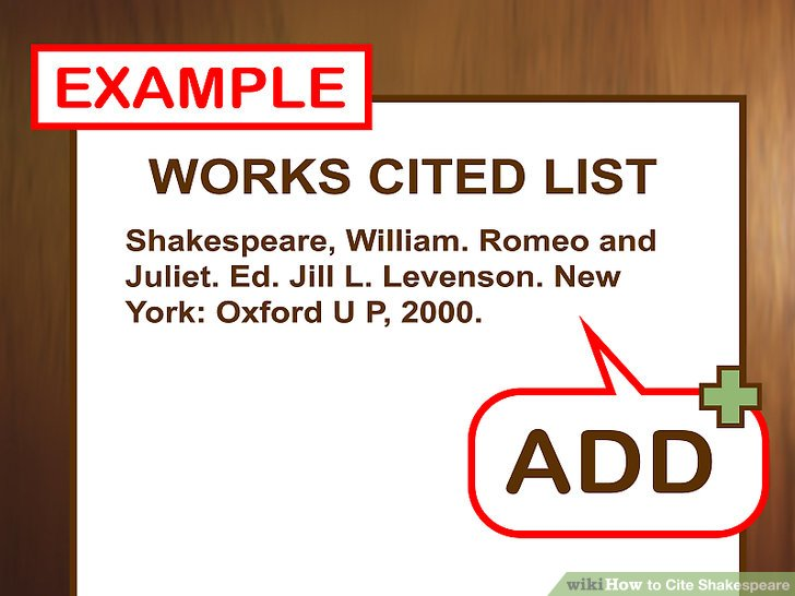 How to Cite Shakespeare (with Pictures) - wikiHow