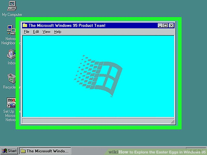3 Ways to Explore the Easter Eggs in Windows 95 - wikiHow