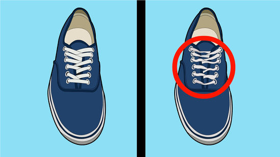 How To Tie Vans Without Laces Showing Tie Photo And
