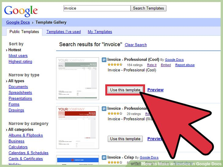 How to Make an Invoice in Google Docs 8 Steps (with Pictures)