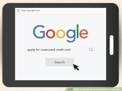 3 Ways to Apply for an Unsecured Credit Card - wikiHow