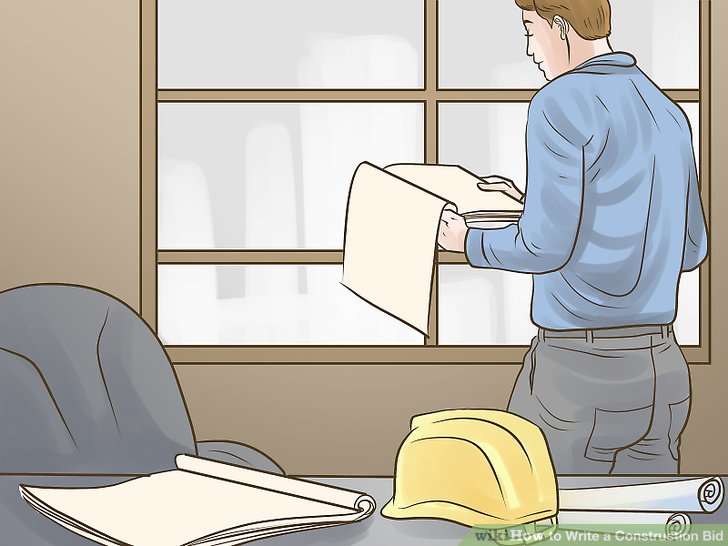 How to Write a Construction Bid (with Pictures) - wikiHow - construction bid