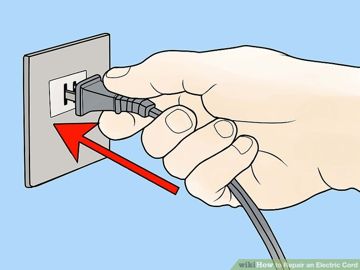 How to Repair an Electric Cord 12 Steps (with Pictures) - wikiHow