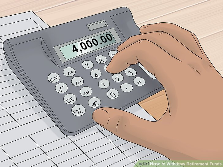 How to Withdraw Retirement Funds 13 Steps (with Pictures) - retirement withdrawal calculator