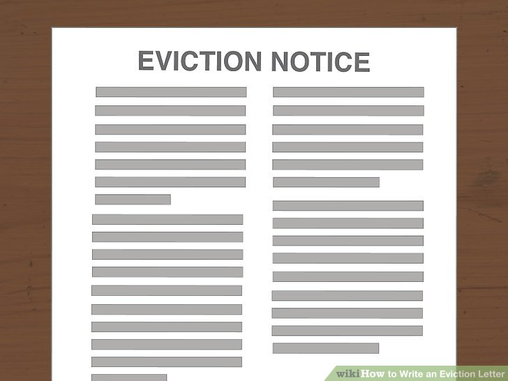 How to Write an Eviction Letter (with Pictures) - wikiHow