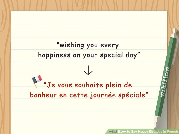 4 Ways to Say Happy Birthday in French - wikiHow