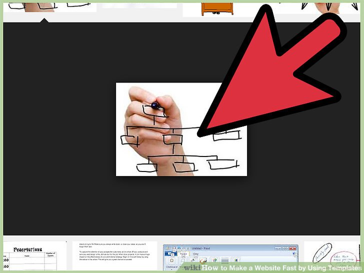 How to Make a Website Fast by Using Templates 14 Steps - how to create a website template