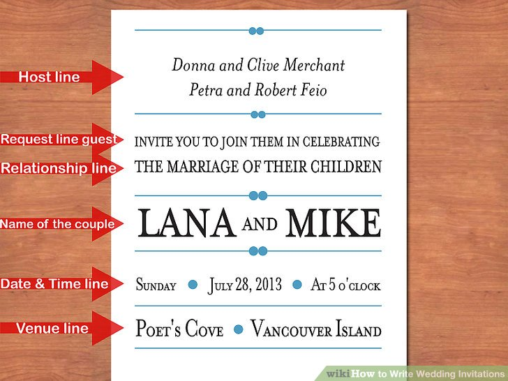 3 Easy Ways to Write Wedding Invitations (with Pictures)