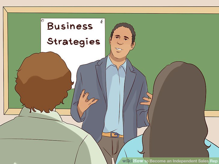 How to Become an Independent Sales Rep (with Pictures) - wikiHow