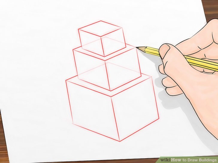 How to Draw Buildings 5 Steps (with Pictures) - wikiHow