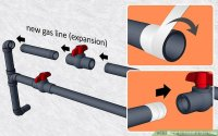 How to Install a Gas Line: 6 Steps (with Pictures) - wikiHow