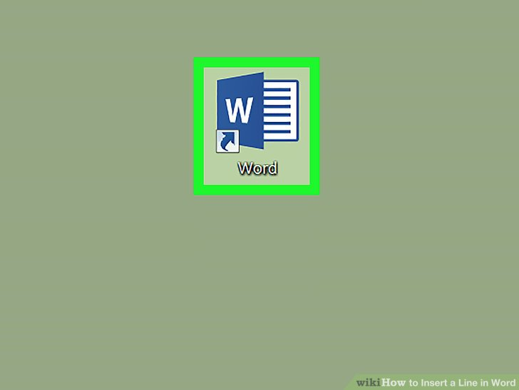 3 Ways to Insert a Line in Word - wikiHow