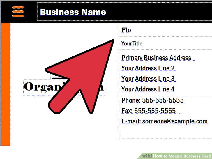 3 Ways to Make a Business Card - wikiHow