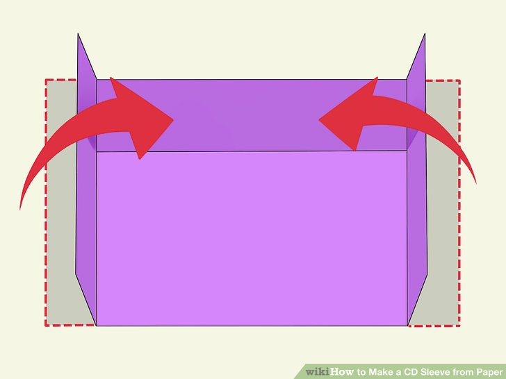 Image Of How To Make A Cd Case Out Of A4 Paper How to make a CD