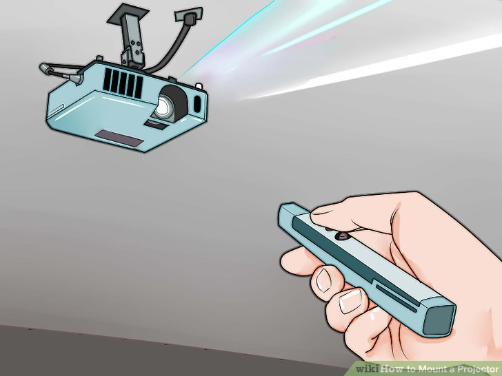 How To Mount A Projector 14 Steps With Pictures Wikihow