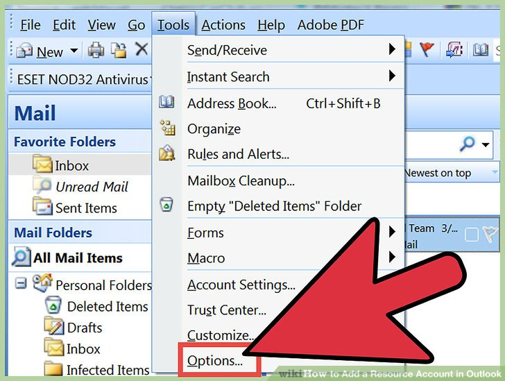 3 Ways to Add a Resource Account in Outlook - wikiHow - create outlook account