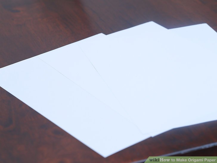 How to Make Origami Paper 10 Steps (with Pictures) - wikiHow