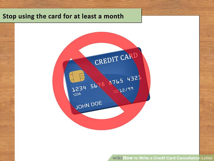 How to Write a Credit Card Cancellation Letter (with Pictures)