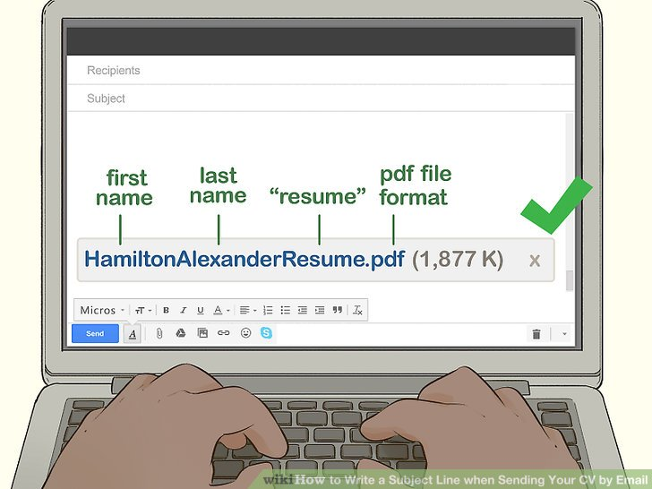 Easy Ways to Write a Subject Line when Sending Your CV by Email