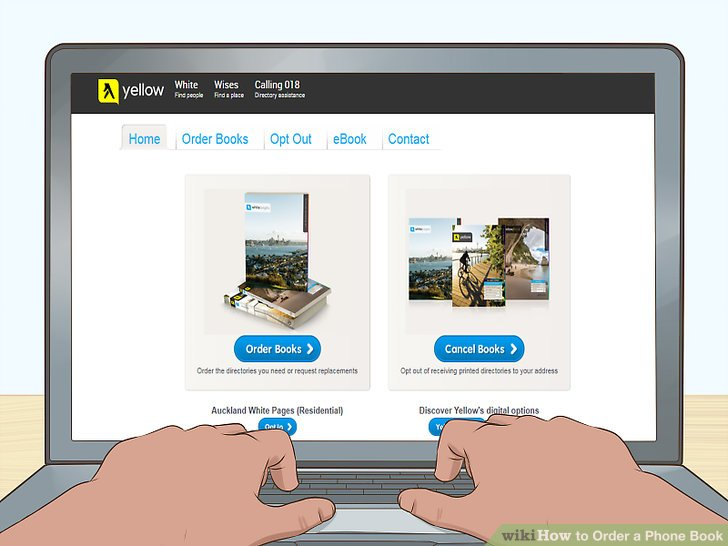 How to Order a Phone Book 10 Steps (with Pictures) - wikiHow - phonebook by address