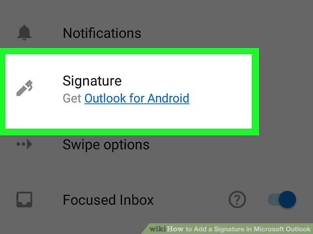 3 Ways to Add a Signature in Microsoft Outlook - wikiHow