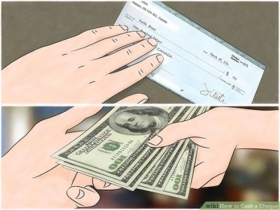 3 Ways to Cash a Cheque - wikiHow