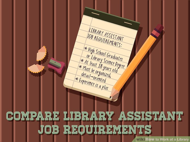 3 Ways to Work at a Library - wikiHow
